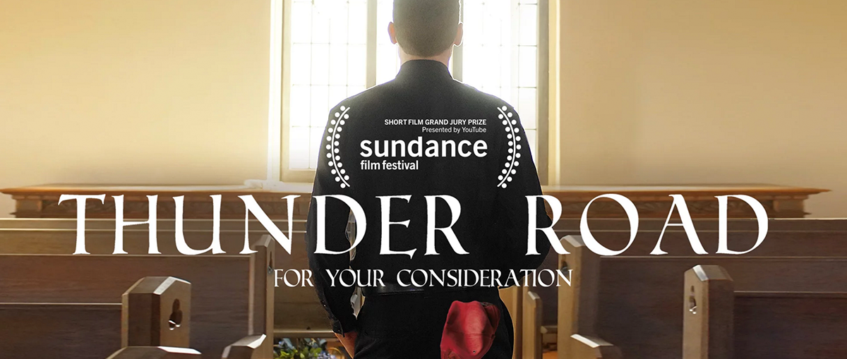 Peer behind the scenes of the Sundance-winning short 'Thunder Road.'